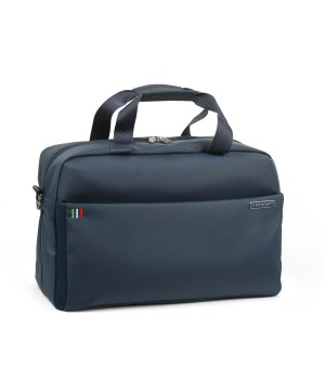RONCATO VENICE 2.0 CABIN DUFFLE WITH EXPANDABLE SYSTEM AND TABLET 10' COMPARTMENT DARK BLUE