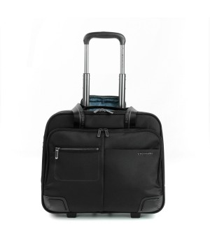 RONCATO WALL STREET BUSINESS TROLLEY PC 15,6' BLACK