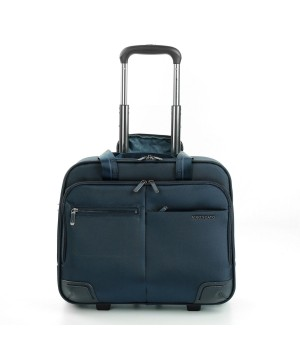 RONCATO WALL STREET BUSINESS TROLLEY PC 15,6' DARK BLUE