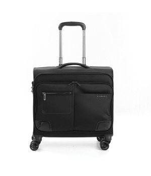 RONCATO WALL STREET BUSINESS TROLLEY PC 17' BLACK