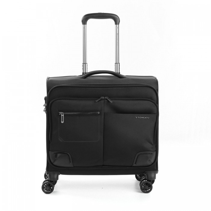 RONCATO WALL STREET PC TROLLEY NERO