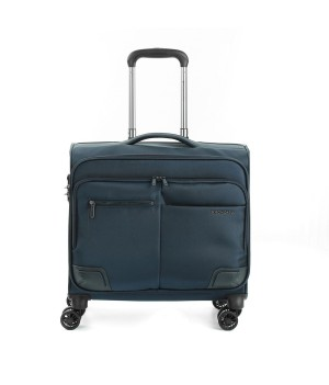 RONCATO WALL STREET BUSINESS TROLLEY PC 17' DARK BLUE