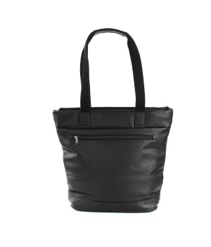 RONCATO ROUND DLX SHOPPER BLACK