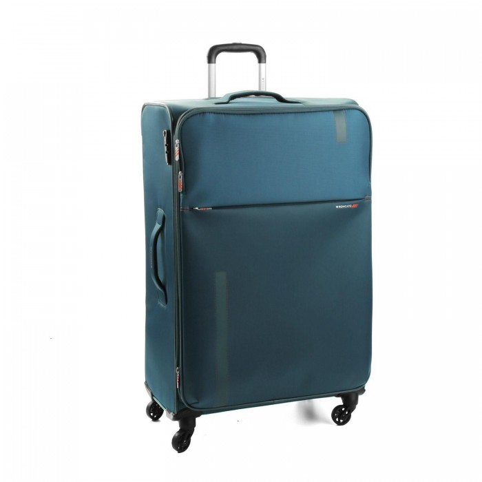 RONCATO SPEED TROLLEY GRANDE 4 RUOTE ESPANDIBILE 78 CM BLU