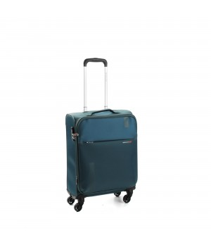 RONCATO SPEED TROLLEY CABINA 4 RUOTE 55/20 ESPANDIBILE BLU