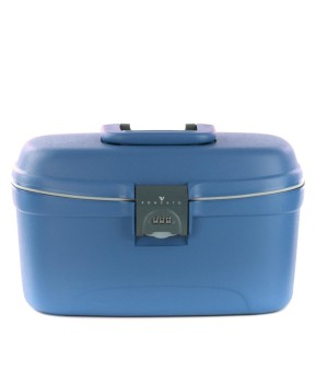 RONCATO LIGHT HARDSIDE BEAUTY CASE AVIO BLUE
