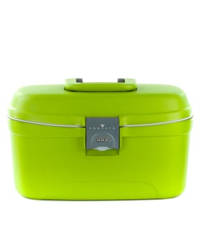 RONCATO LIGHT HARDSIDE BEAUTY CASE GREEN