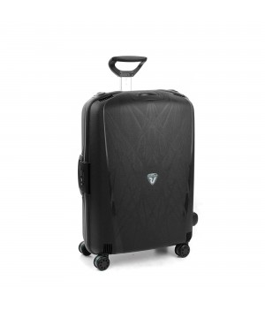 RONCATO LIGHT LARGE TROLLEY 4 WHEELS BLACK