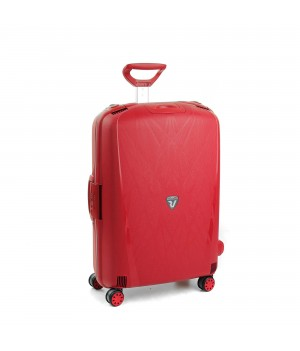 RONCATO LIGHT LARGE TROLLEY 4 WHEELS RED