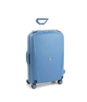 RONCATO LIGHT LARGE TROLLEY 4 WHEELS AVIO BLUE