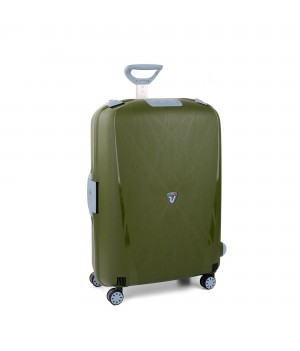 RONCATO LIGHT LARGE TROLLEY 4 WHEELS GREEN