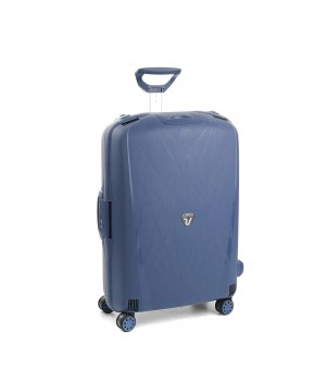 RONCATO LIGHT LARGE TROLLEY 4 WHEELS NAVY