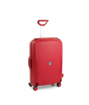 RONCATO LIGHT MEDIUM TROLLEY 4 WHEELS RED