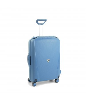 RONCATO LIGHT MEDIUM TROLLEY 4 WHEELS AVIO BLUE