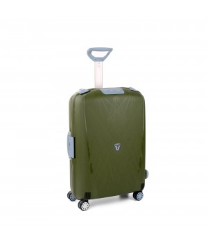 RONCATO LIGHT MEDIUM TROLLEY 4 WHEELS MILITAR GREEN