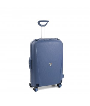 RONCATO LIGHT MEDIUM TROLLEY 4 WHEELS NAVY