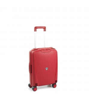 RONCATO LIGHT CABIN TROLLEY 4 WHEELS 55CM RED