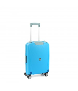 RONCATO LIGHT CABIN TROLLEY 4 WHEELS 55CM LIGHT BLUE