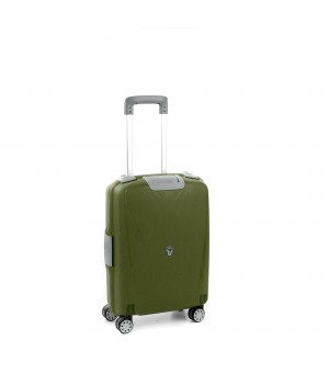 RONCATO LIGHT CABIN TROLLEY 4 WHEELS 55CM MILITAR GREEN