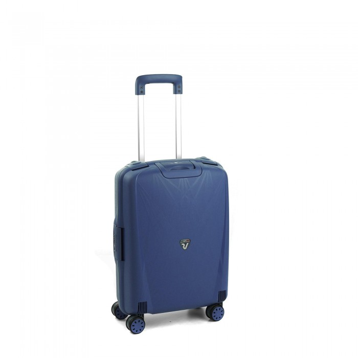 RONCATO LIGHT CABIN TROLLEY 4 WHEELS 55CM NAVY