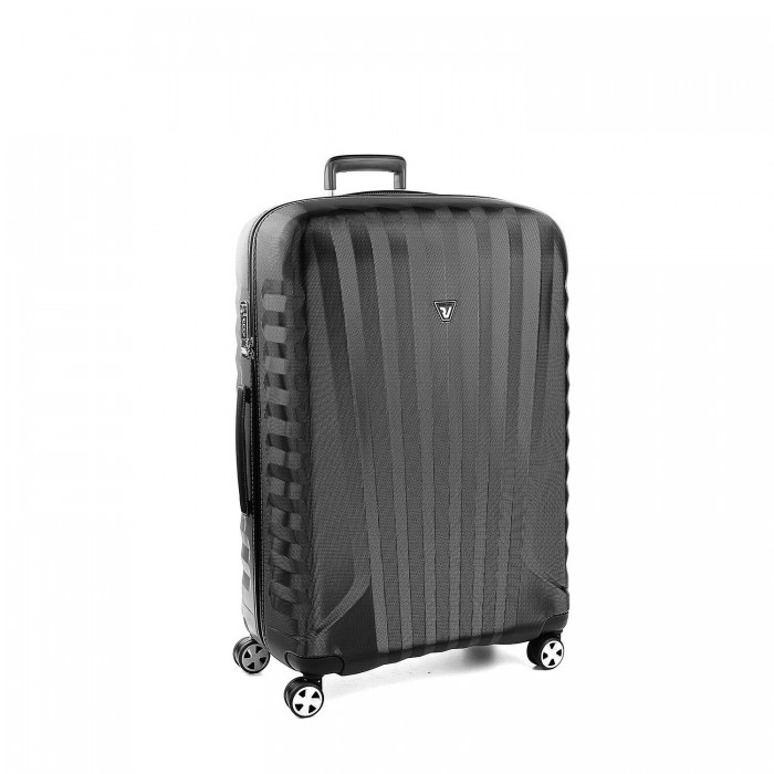 E-LITE LARGE TROLLEY 80 CM BLACK