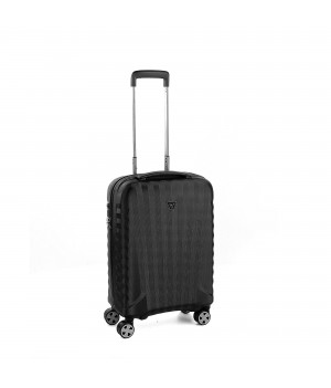 E-LITE CABIN TROLLEY 55 CM BLACK