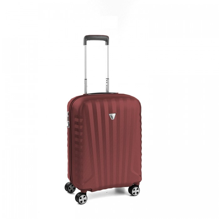 RONCATO UNO ZSL PREMIUM 2.0 CABIN TROLLEY 4 WHEELS ( S ) (RED/RED)