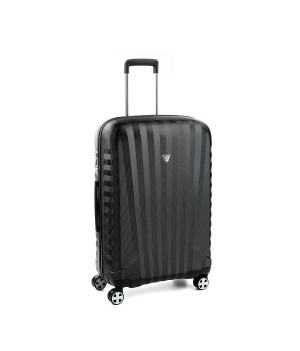 RONCATO UNO ZSL PREMIUM 2.0 MEDIUM TROLLEY 4 WHEELS ( M ) BLACK/BLACK