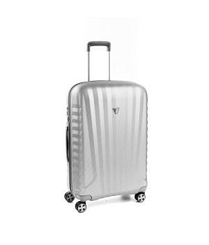 RONCATO UNO ZSL PREMIUM 2.0 MEDIUM TROLLEY 4 WHEELS ( M ) GREY/SILVER