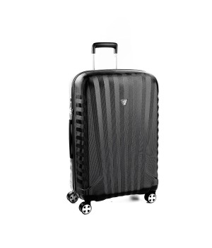 RONCATO UNO ZSL PREMIUM 2.0 MEDIUM TROLLEY 4 WHEELS ( ML ) BLACK/BLACK