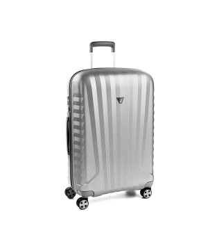RONCATO UNO ZSL PREMIUM 2.0 MEDIUM TROLLEY 4 WHEELS ( ML ) GREY/SILVER