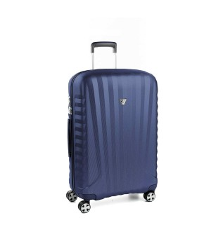 RONCATO UNO ZSL PREMIUM 2.0 MEDIUM TROLLEY 4 WHEELS ( ML ) BLUE/BLUE