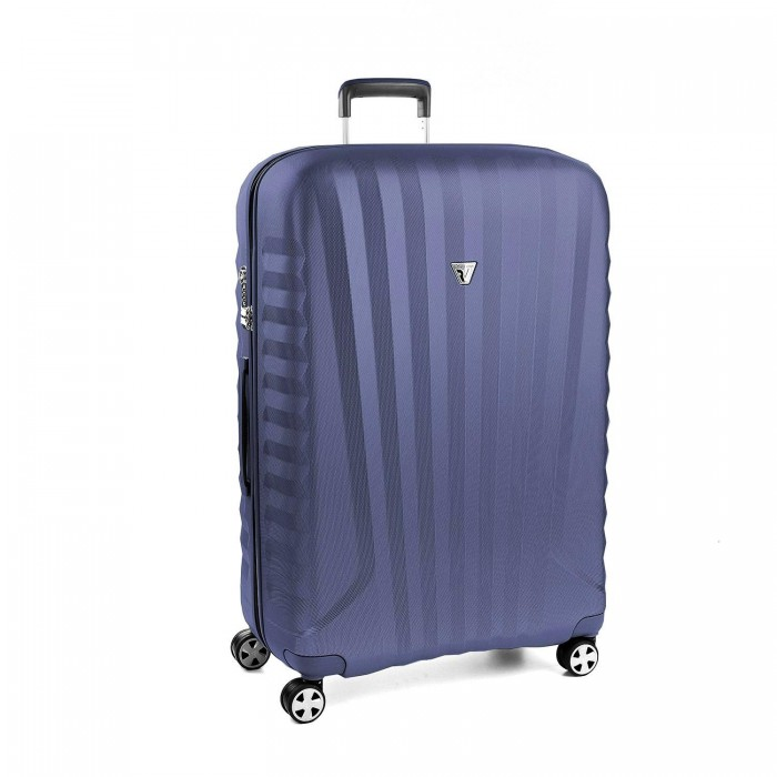 RONCATO UNO ZSL PREMIUM 2.0 LARGE TROLLEY 4 WHEELS ( L ) BLUE/BLUE