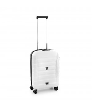 RONCATO D-BOX CABIN TROLLEY 55 x 40 x 20 CM WHITE/BLACK
