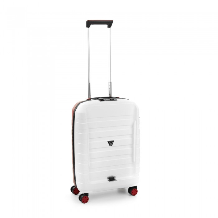 RONCATO D-BOX CABIN TROLLEY 55 x 40 x 20 CM WHITE/RED