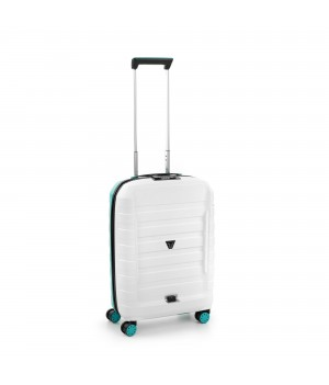 RONCATO D-BOX CABIN TROLLEY 55 x 40 x 20 CM WHITE/EMERALD