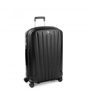 RONCATO UNICA MEDIUM TROLLEY 76 CM BLACK BLACK
