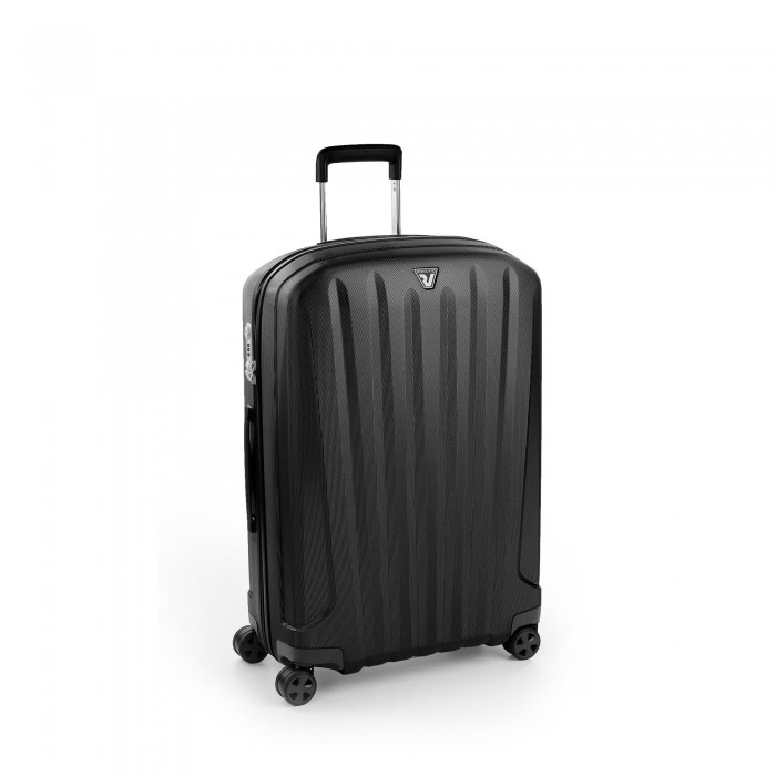 RONCATO UNICA TROLLEY MEDIO 72 CM NERO