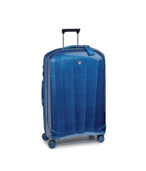 RONCATO WE-GLAM LARGE TROLLEY 4 WHEELS 80 CM BLUE