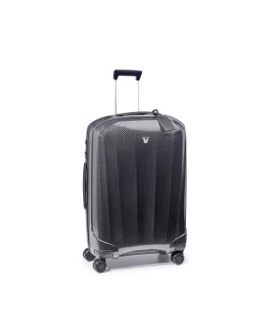 RONCATO WE-GLAM TROLLEY MEDIO NERO/GRAFITE
