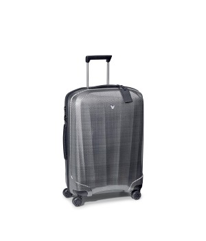 RONCATO WE-GLAM TROLLEY MEDIO NERO/PLATINO
