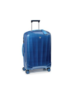 RONCATO WE-GLAM MEDIUM TROLLEY 4 WHEELS 70 CM BLUE