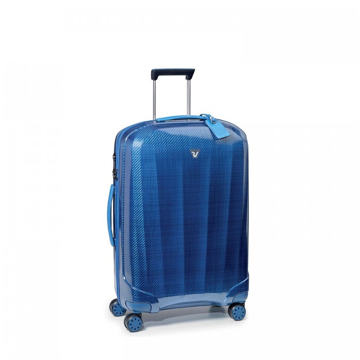 RONCATO WE-GLAM MEDIUM TROLLEY 4 WHEELS 70 CM BLUE