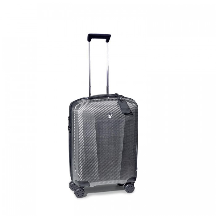 RONCATO WE-GLAM TROLLEY CABINA NERO/PLATINO
