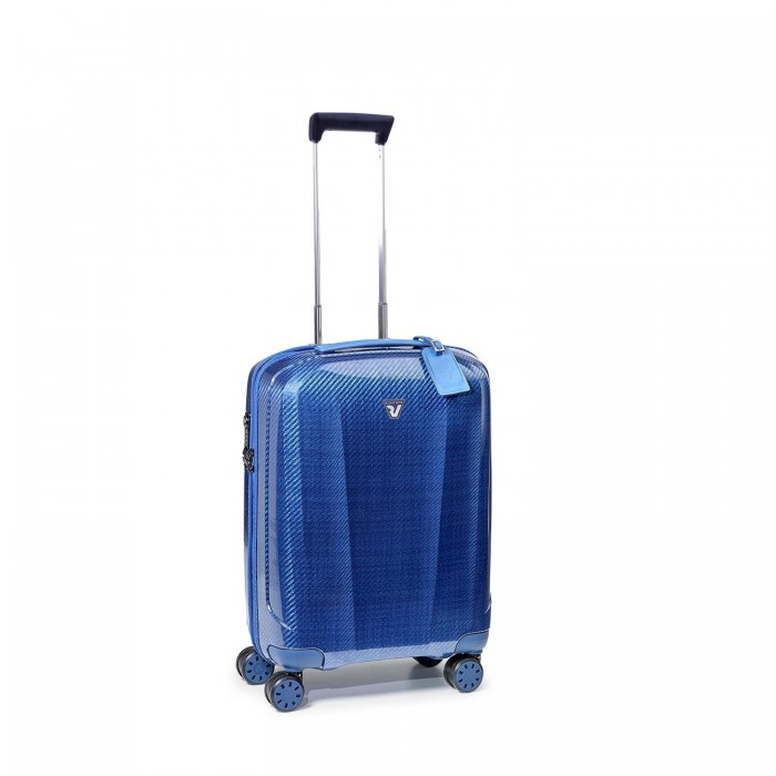 RONCATO WE-GLAM CABIN TROLLEY 4 WHEELS 55 CM BLUE