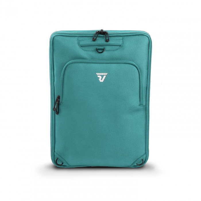 RONCATO D-BOX REMOVABLE COMPARTMENT D-BOX FOR 15.6' LAPTOP AND TABLET 10' EMERALD
