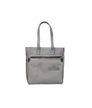 RONCATO HARVARD SHOPPER BAG ECRU