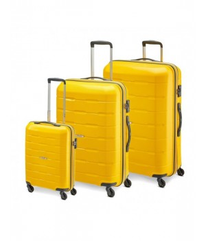 MODO by Roncato DELTA LUGGAGE SET 3 YELLOW