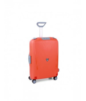 RONCATO LIGHT MEDIUM TROLLEY 4 WHEELS ORANGE