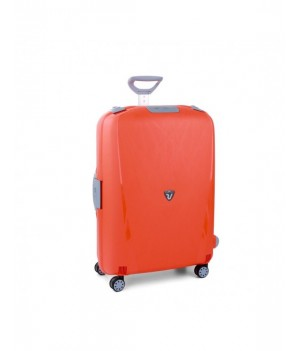 RONCATO LIGHT LARGE TROLLEY 4 WHEELS ORANGE